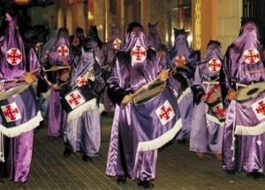 Procesión del santo entierro en Vila-real