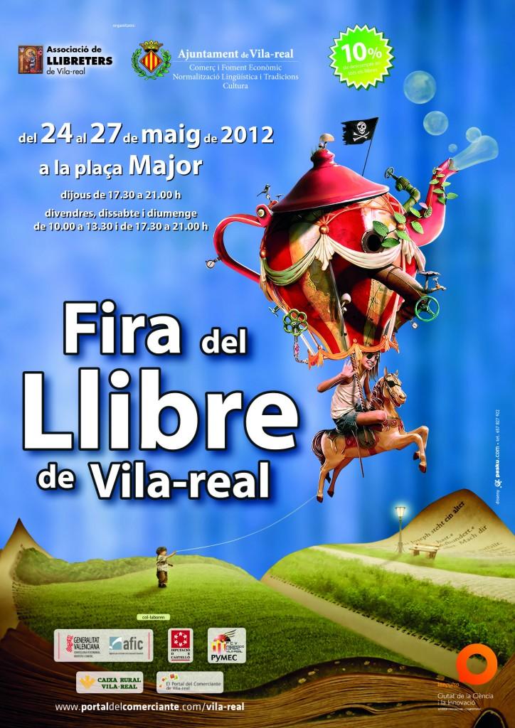 Fira del Llibre en Vila-real a partir del día 24