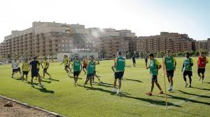 Amistoso entre el Villarreal y el Huracán CF