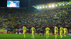 Horarios para el Villarreal CF en las jornadas 10, 11 y 12