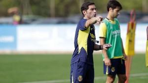Marcelino: » Sería bonito poder ganar en Bilbao y entrar en la historia»