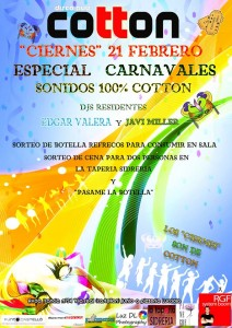cartelcottoncarnaval