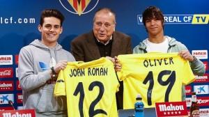 Oliver Torres y Joan Román presentados como jugadores del Villarreal
