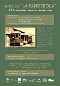 Vila-real recuerda los 125 años de la llegada de la Panderola con un mes de actividades centradas en el mítico tranvía