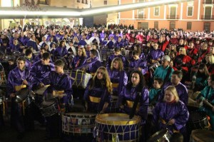 1.000 bombos y tambores participarán en la IV Tamborrada Provincial como preludio de la Semana Santa de Vila-real