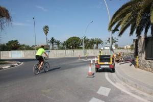 """El primer carril bici de Vila-real unirá la ciudad y el Termet a través de 1,7 kilómetros de vía reservada """"y completamente segura"""""""