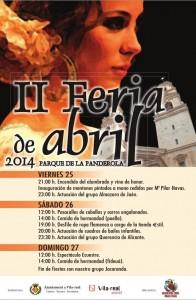 La II Feria de Abril de Vila-real contará con más bailes flamencos, actuaciones musicales y espectáculos ecuestres
