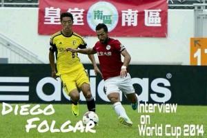 """El ex-amarillo """"Dieguito"""" visita a la expedición del Villarreal en Hong Kong"""