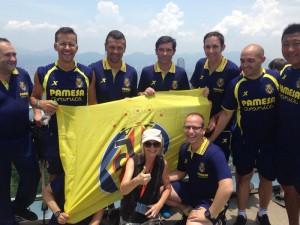 Subida del Villarreal al Victoria Peak y entrevista a españoles en Hong Kong