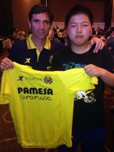 El VillarrealCF continúa la promoción por Asia con la Spain Experience