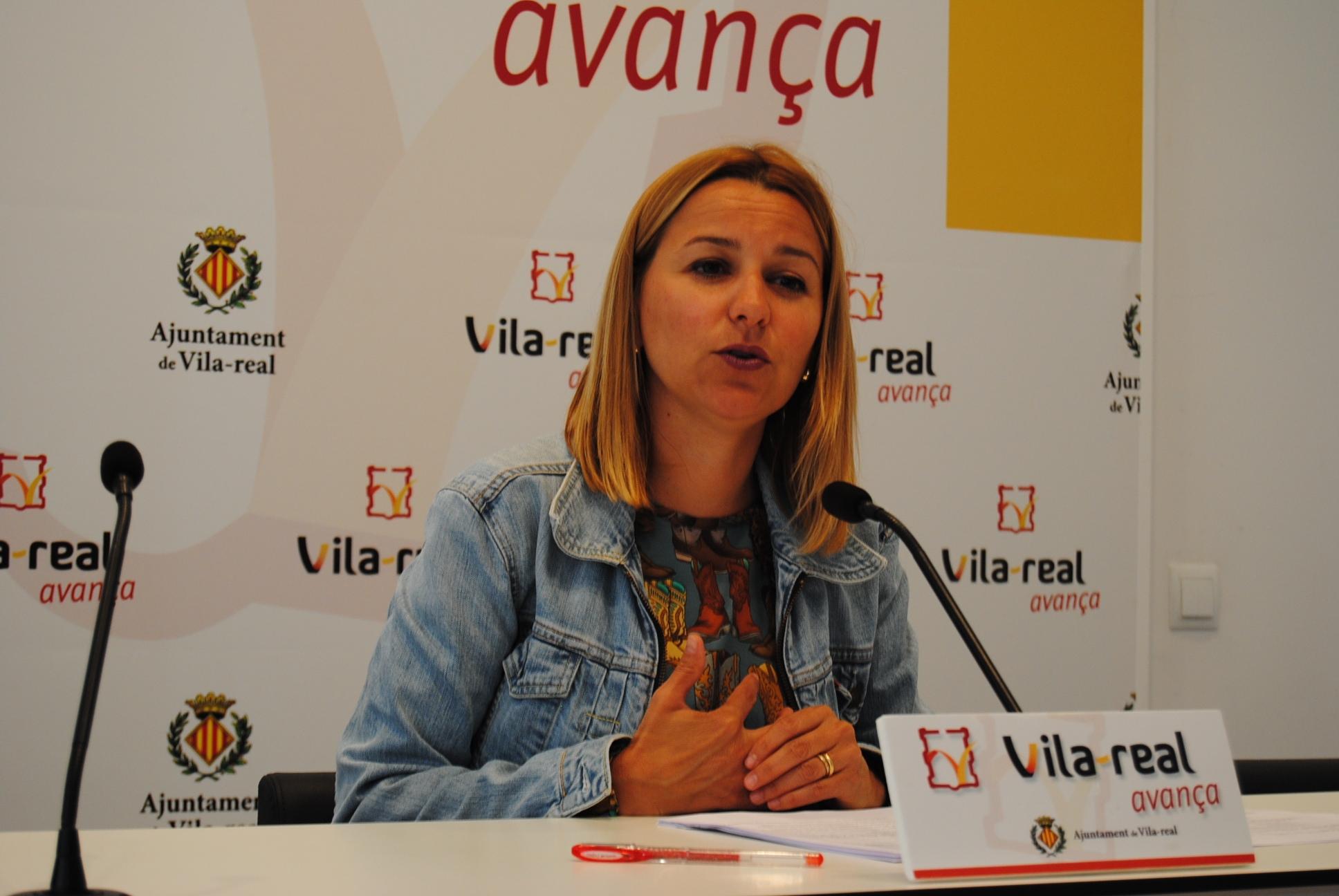 Entrevista a la concejala de Seguridad Ciudadana de Vila-real, Silvia Gómez