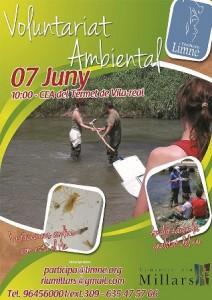 Una jornada del Consorcio y la Fundación Limne analizará el sábado 7 de junio la calidad de las aguas del Millars