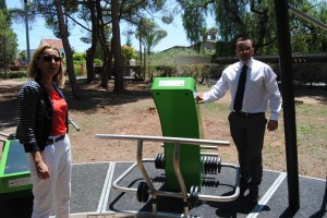 Vila-real instala en el Termet el primer gimnasio al aire libre para el impulso del deporte y la puesta en valor del paraje