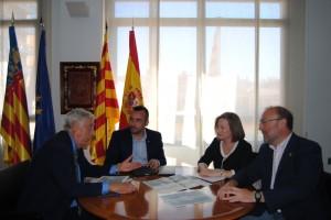 Presentado el  proyecto de la nueva área de servicio en la CV-10 a su paso por Vila-real