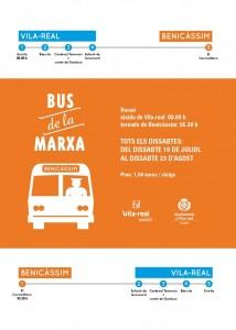 Juventud inicia una tercera edición del Bus de la Marcha a Benicàssim para las noches de los sábados de verano