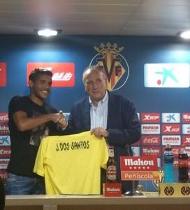 """Jonathan dos Santos: """"La llegada al VillarrealCF es el momento más importante de mi carrera"""""""