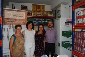 La Escuela de las Emociones recoge más de 1.200 kilos de comida solidaria en las 40 horas de formación emocional programadas
