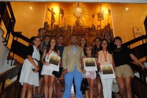 Vila-real felicita a las jóvenes gimnastas Nerea Fernández, Conchín Goterris y Elena Tirado por sus triunfos