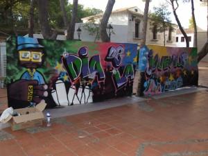 El II concurso de grafiti cuenta con la opinión de los vecinos para elegir los mejores muros en donde plasmar las obras