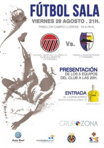 Asiste a la presentación del Auto-Real, S.A. MoldeAzul Villarreal CF