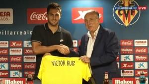 """Víctor Ruiz: """"Intentaremos superar lo que logró el Villarreal el año pasado y dar una alegría en Europa League"""""""