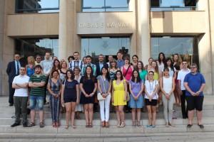 Vilabeca arranca su tercera edición con la incorporación de los 25 becarios del programa Experiencia