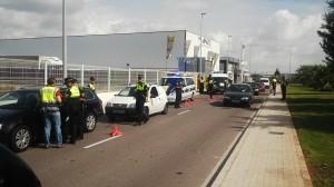 La Policía Local de Vila-real lleva a cabo controles de detección de drogas a los conductores para prevenir accidentes