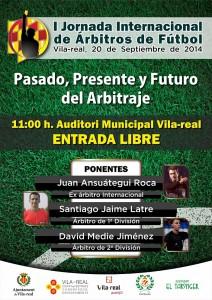 Vila-real acoge la I Jornada Internacional del Arbitraje de fútbol con más de 150 árbitros de Primera y Segunda División