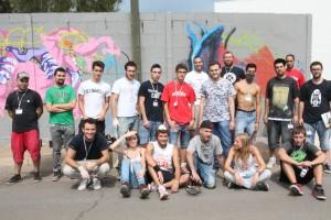 Un total de 45 jóvenes artistas avalan el éxito de convocatoria del II Concurso de Grafiti
