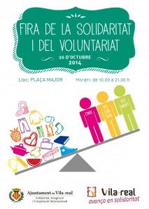 La Feria de la Solidaridad y el Voluntariado reúne el domingo a 44 entidades con talleres, documentales y un flashmob solidario