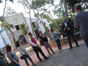 Una docena de informadores turísticos de municipios de la provincia se reúnen en el Termet