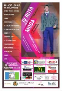 Un total de 14 establecimientos de Vila-real inician mañana la IV Ruta de la Moda con descuentos de hasta el 60%