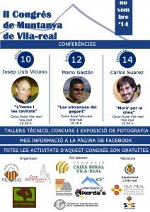 El II Congreso de Montaña reúne en Vila-real a expertos de prestigio internacional del alpinismo y la escalada