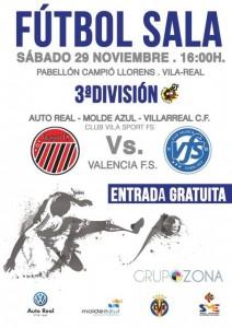 El Auto Real – Molde Azul – VillarrealCF te espera este sábado a las 16:00