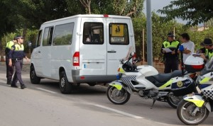 La Policía Local vigilará la seguridad del transporte escolar en Vila-real en una nueva campaña en colaboración con la DGT