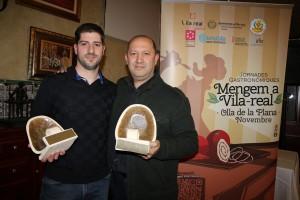 Restaurante Al d'Emilio y Ca Álex, ganadores de las V Jornadas Gastronómicas Mengem a Vila-real