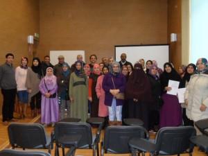 Integración clausura los talleres de castellano para immigrantes con la entrega de certificados a los más de 40 alumnos