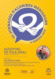 Las VI Jornadas de Alumnos Mediadores de Vila-real contarán con la experiencia del 'Hermano mayor' Pedro García Aguado