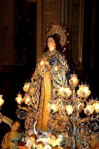 Vila-real prepara la fiesta de la Puríssima del Poble