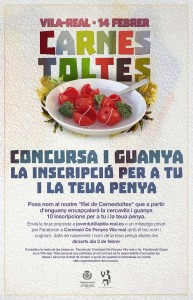 Vila-real organiza el primer concurso para poner nombre al 'Rei de Carnestoltes' que encabezará el desfile del Carnaval