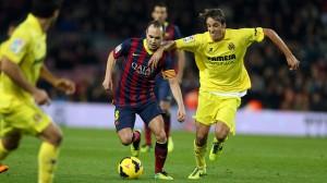 Partidos de Liga del Villarreal en Febrero