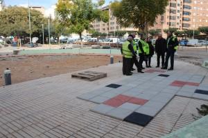 """El Pilar 'estrenará' en marzo un jardín completamente remodelado para """"mejorar la vida de los vecinos del barrio"""""""