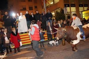 Vila-real celebra este fin de semana Sant Antoni con la tradicional Matxà y el reparto de 4.500 'rotllos' y 1.000 'panets'