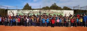 Un total de 420 escolares participan en las jornadas de tenis y natación del Campeonato Multiesport Escolar