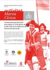 Vila-real conmemora este fin de semana el 309 aniversario de la Crema de la ciudad