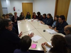 El Banco de Alimentos se reúne con las entidades sociales de Vila-real para explicar la nueva normativa que afectará la entrega de alimentos