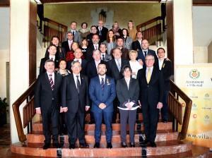 Vila-real celebra el primer encuentro de ciudades hermanadas con Burriana, Vilanova i la Geltrú, Michalovce y Sacile