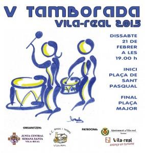 Vila-real convoca a cerca de 1.000 bombos y tambores en la V Tamborrada Provincial el próximo 21 de febrero