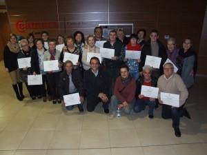 El programa de telemedicina Euglia clausura el curso con la entrega de certificados a los 17 participantes de los talleres