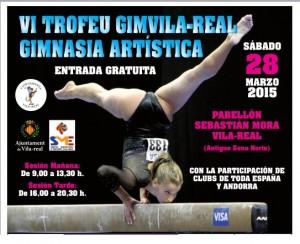 El VI Trofeo GimVila-real convoca el próximo sábado a 170 gimnastas de 24 clubs de España y Andorra
